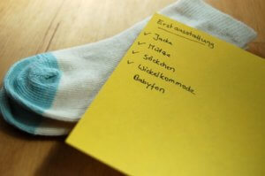 Baby Erstausstattung Checkliste