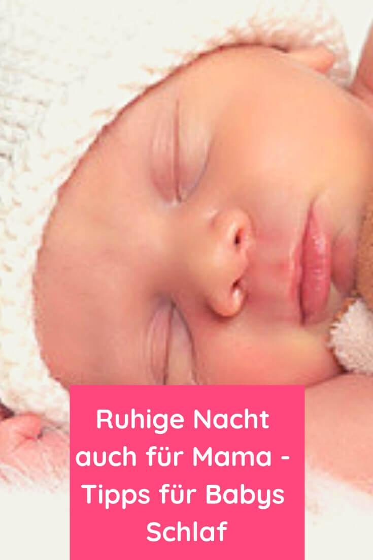 Ruhige Nacht auch für Mama - Tipps für Babys Schlaf