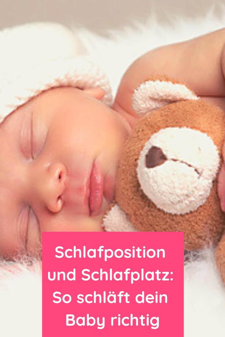 Schlafposition und Schlafplatz - So schläft dein Baby richtig