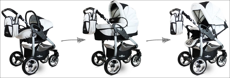 Bergsteiger Capri - Kinderwagen - Baby Erstausstattung