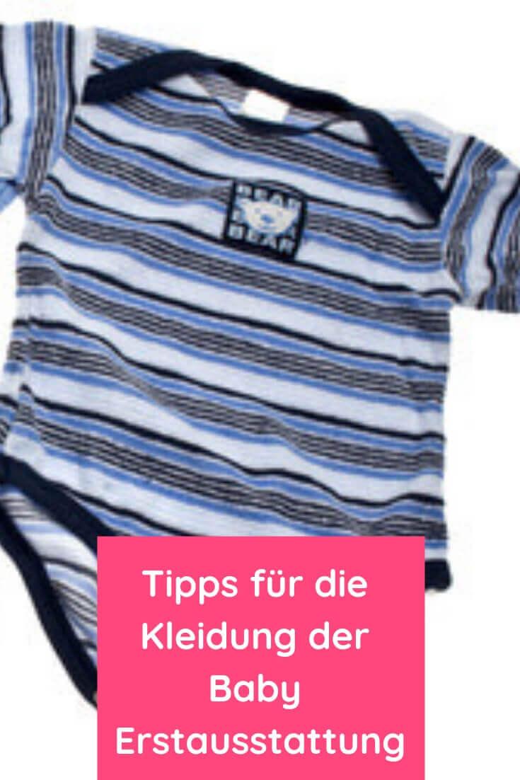 Tipps für die richtige Kleidung der Baby Erstausstattung